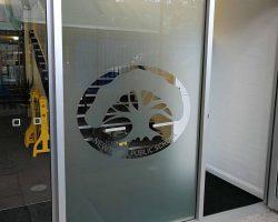 window frost - logo design